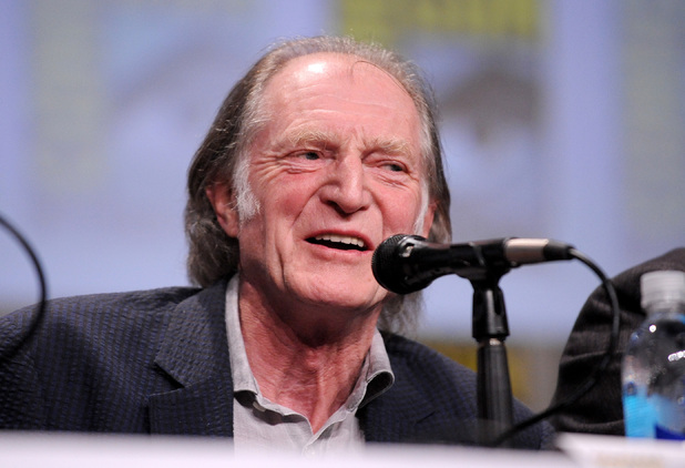 Actor David Bradley attends FX's 'The Strain' panel during Comic-Con