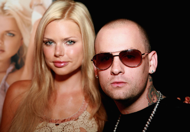 SOUTHAMPTON, NY - JULY 14: Actress Sophie Monk and Musician Benji Madden visits Dune Nightclub July 14, 2007 in Southampton, New York. (Photo by Tana Lee Alves/Getty Images)