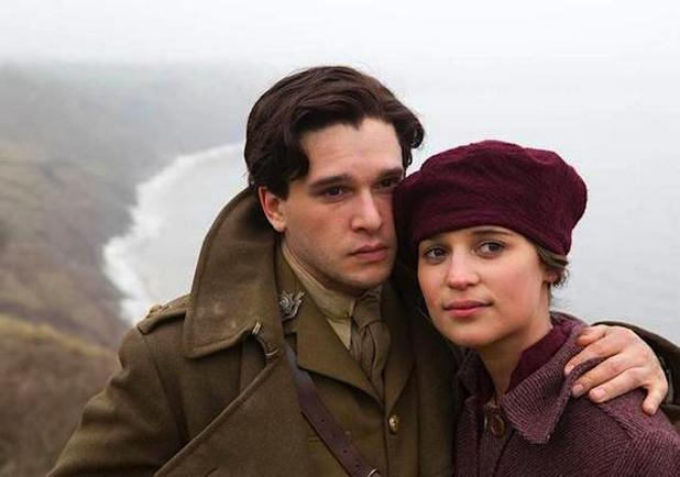 Kit Harington & Alicia Vikander in Testament of Youth