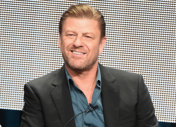 Sean Bean speaks during the 'Legends' portion of the 2014 TCA Turner Broadcasting Summer Press Tour