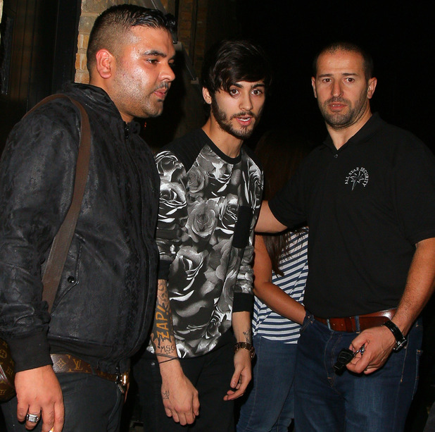 LONDON, UNITED KINGDOM - JULY 31: Zayn Malik at the Chiltern Firehouse on July 31, 2014 in London, England. (Photo by Mark Robert Milan/GC Images)