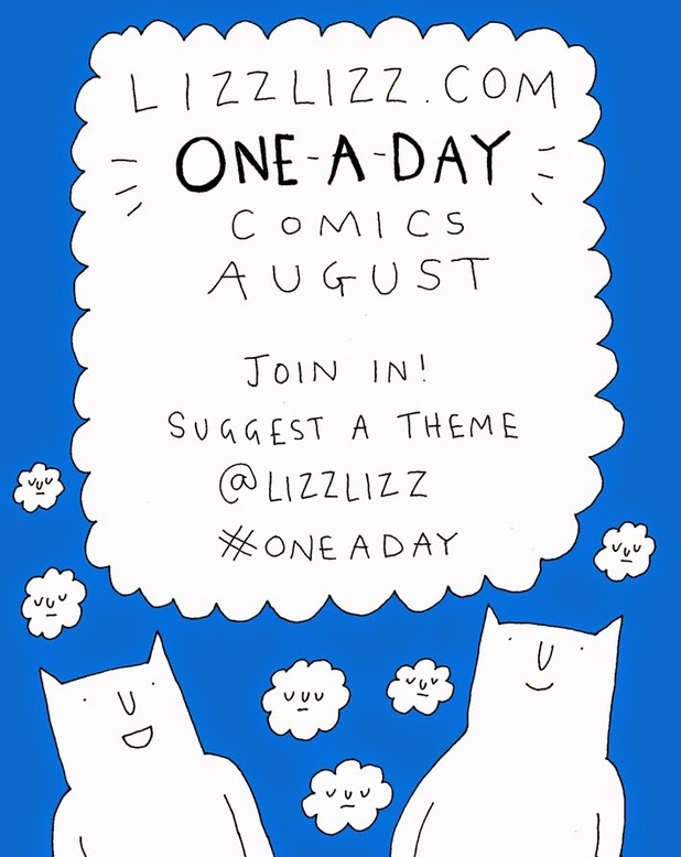 Liz Lunney's One-a-Day comic