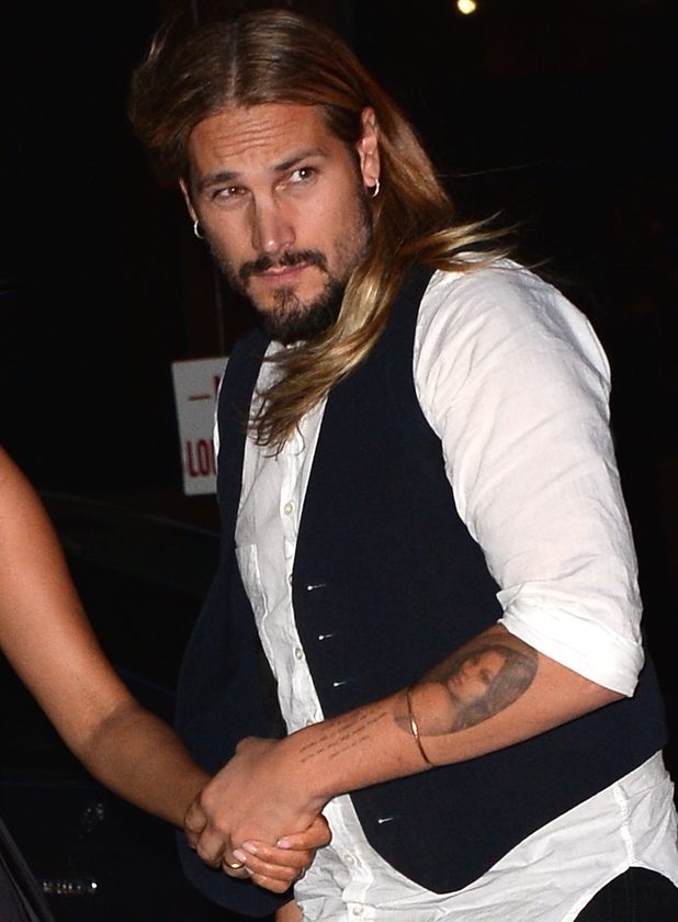 The 38-year old son of father (?) and mother(?), 171 cm tall Marco Perego in 2017 photo