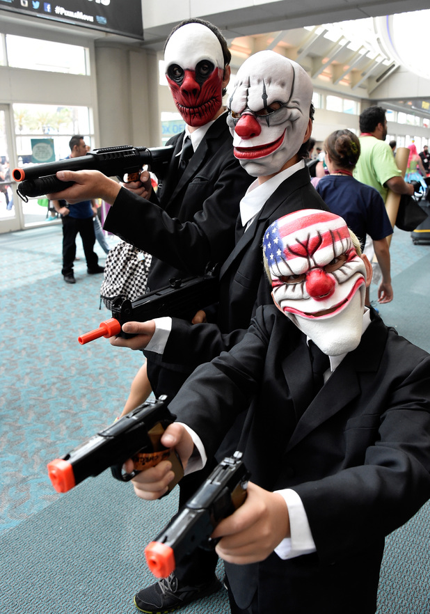 SAN DIEGO, CA - JULY 27: Fans attend Day 4 of Comic-Con International 2014 on July 27, 2014 in San Diego, California. (Photo by Frazer Harrison/Getty Images)