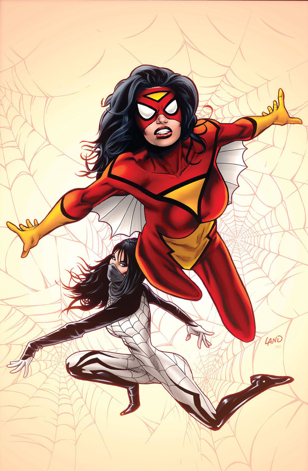 Dennis Hopeless, Greg Land's Spider-Woman