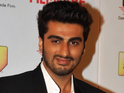 Kapoor launches the first motion picture for Tevar on Twitter.