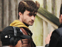 Daniel Radcliffe plays a man suspected of murdering his girlfriend.