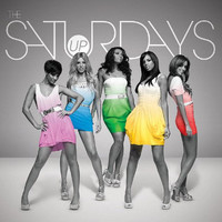The Saturdays 'Up' single artwork.