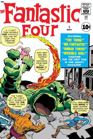 Lee and Kirby's Fantastic Four #1