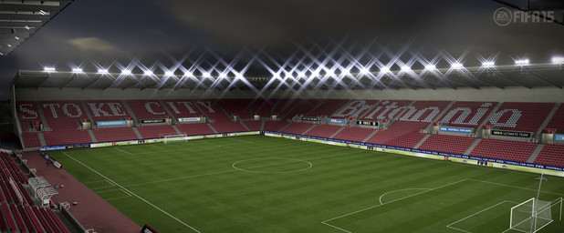 FIFA 15 Barclay's Premiere League Stadium: Britannia - Stoke City
