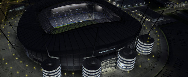 FIFA 15 Barclay's Premiere League Stadium: Etihad - Manchester City Football Club