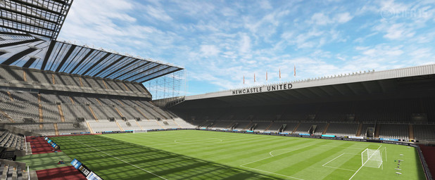 FIFA 15 Barclay's Premiere League Stadium: St James - Newcastle United