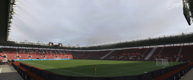 FIFA 15 Barclay's Premiere League Stadium: St Mary's - Southampton F.C.