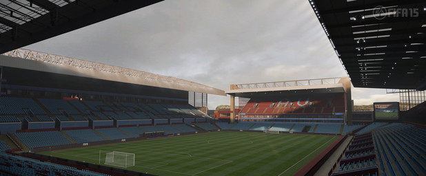 FIFA 15 Barclay's Premiere League Stadium: Villa Park - Aston Villa
