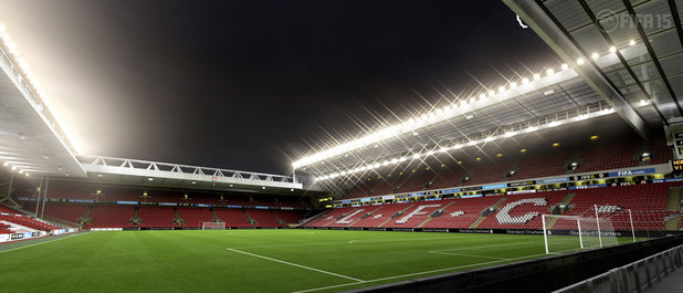 FIFA 15 Barclay's Premiere League Stadium: Anfield - Liverpool FC