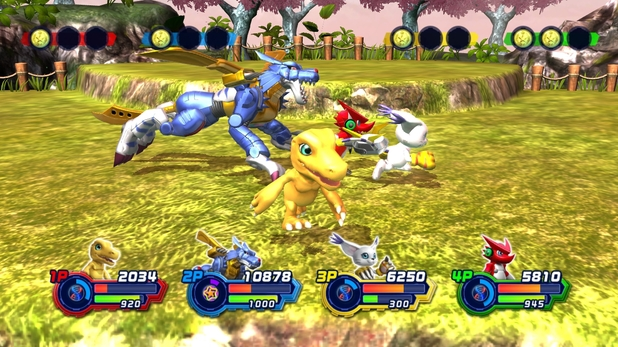 Digimon All-Star Rumble screenshot