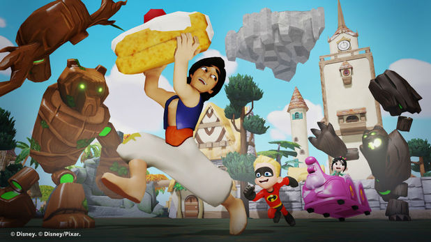 Aladdin in Disney Infinity 2.0