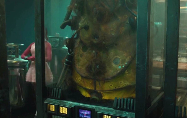 Adam Warlock's cocoon in Guardians of the Galaxy
