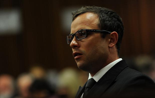 Oscar Pistorius in the Pretoria High Court on August 7, 2014
