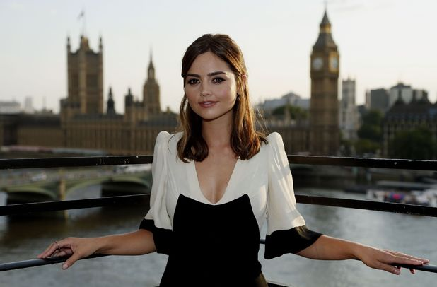Dr Who star Jenna Coleman during a photocall to launch the new Dr Who series at the Marriott County Hall, London. Picture date: Thursday August 7, 2014. The first feature-length edition of the new series, called Deep Breath, will be beamed into screens around the globe from August 23 to allow fans to share the moment as Peter Capaldi takes on the role of The Doctor. Photo credit should read: Jonathan Brady/PA Wire