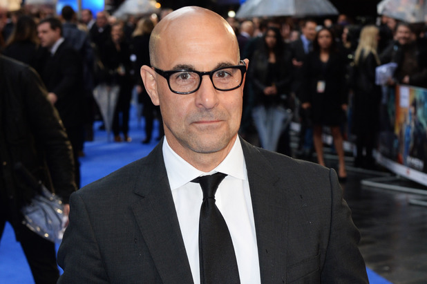 LONDON, ENGLAND - MAY 12: Stanley Tucci attends the UK premiere of 'X-Men: Days Of Future Past' at the Odeon Leicester Square on May 12, 2014 in London, England. (Photo by Dave J Hogan/Getty Images)