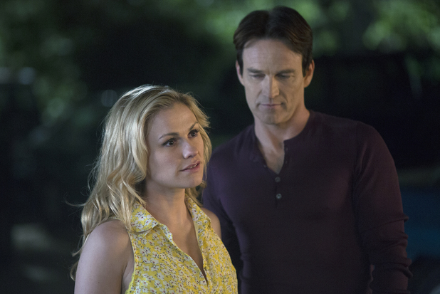 Anna Paquin & Stephen Moyer in True Blood S07E05: 'Lost Cause'