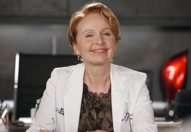 Kate Burton as Ellis Grey in Grey's Anatomy