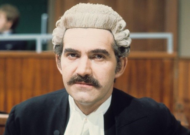 Charles Keating as James Elliot QC in Crown Court