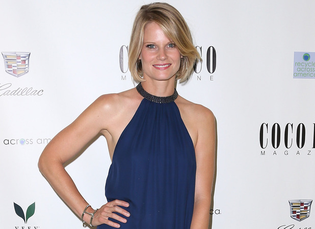 Joelle Carter attends Coco Eco Magazine's launch of it's Earth Rocks! debut print issue