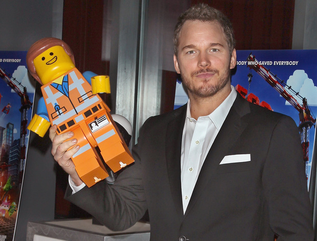 Chris Pratt attends the Warner Bros. and Village Roadshow Pictures screening of The LEGO Movie