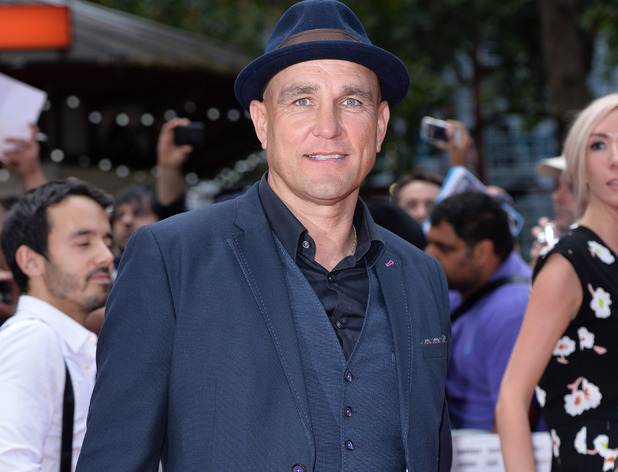 Vinnie Jones attends the premiere of The Expendables 3