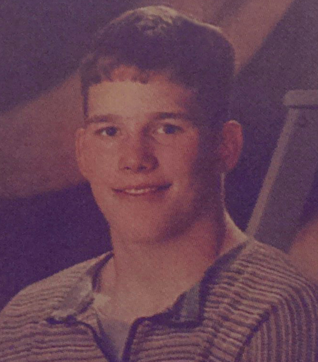 Chris Pratt High school yearbook