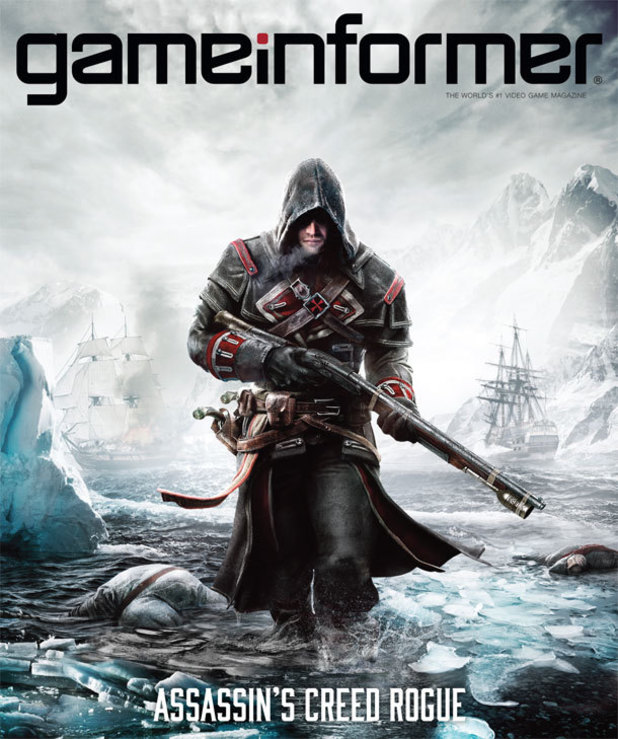Assassin's Creed Rogue Game Informer cover