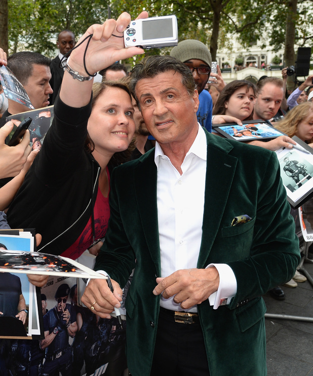 Sylvester Stallone attends the World Premiere of 'The Expendables 3' at Odeon Leicester Square