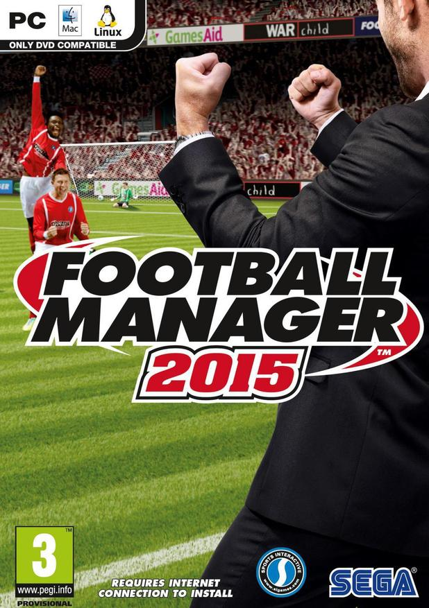 Box art for Football Manager 2015