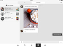 Pinterest users can now reply to pins with messages and send a pin in return.