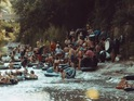 The video was filmed along the Guadalupe River in Texas.