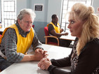 POTD: Coronation Street's Liz McDonald visits Jim in prison