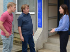 Ian and Peter get false hope over the Lucy murder inquiry tonight.