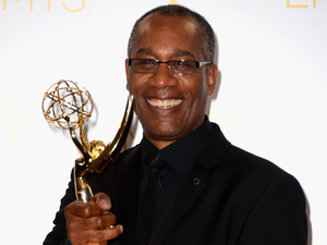 Joe Morton at the 2014 Creative Arts Emmy Awards at Nokia Theatre L.A. Live
