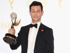 Joseph Gordon-Levitt at the 2014 Creative Arts Emmy Awards at Nokia Theatre L.A. Live