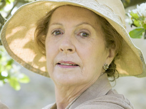 Penelope Wilton as Isobel Crawley in Downton Abbey series 5 launch picture