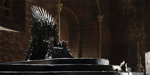 The Iron Throne in Game of Thrones