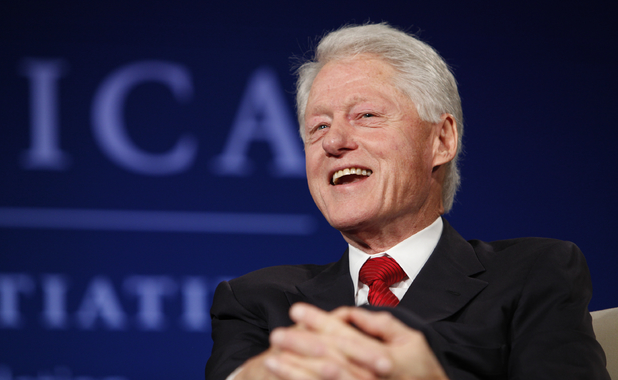 MEET THE PRESS -- Pictured: President Bill Clinton appears at the 2014 CGI America meeting in Denver -- (Photo by: Jason Bahr/NBC/NBCU Photo Bank via Getty Images)