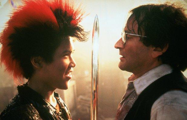 Robin Williams and Dante Basco in Hook (1991)