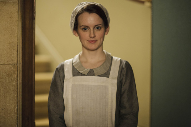 Sophie McShera as Daisy in Downton Abbey series 5 launch picture