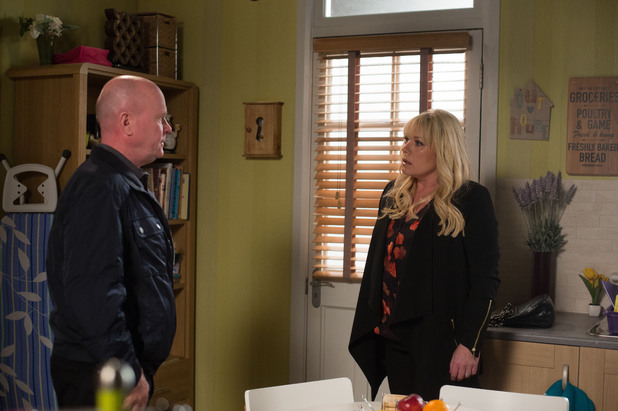 Phil tells a shocked Sharon that Ian slept with a prostitute