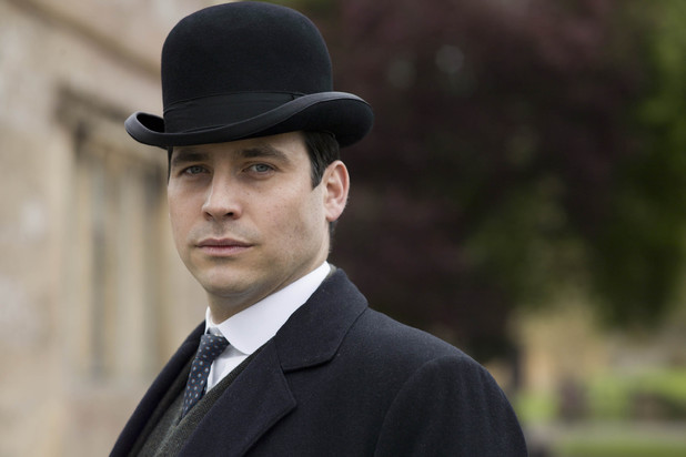 Rob James-Collier as Thomas in Downton Abbey series 5 launch picture