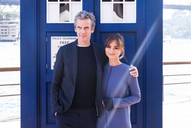 'Dr Who' photocall in Sydney, Australia - 12 Aug 2014Peter Capaldi and Jenna Coleman 12 Aug 2014