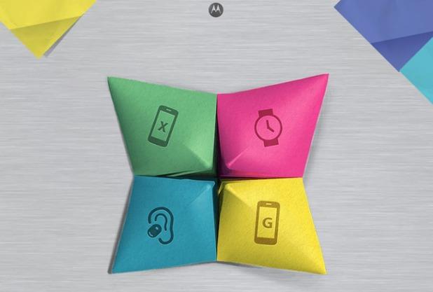 Motorola event invitation